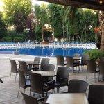 Pool area .