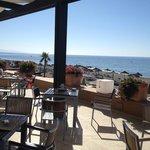 Il ristorante con splendida vista mare anche per la colazione