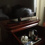 TV and coffee Station