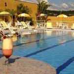 Piscina externa Hotel Paradies
