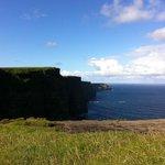 Cliffs of Moher walking
