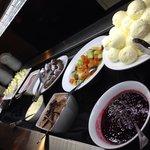 Dessert bar (well, part of it!)