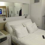 YOTEL NYC hotel room...