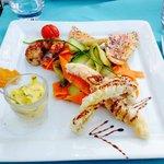 Assiette du pêcheur dans le menu à 36€