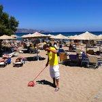 Stranden och Daniel
