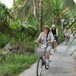 La ballade en vélo