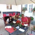 Jantar no Jardim Interno