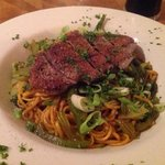 restaurant - Duck breast and Asian noodles. Lovely.