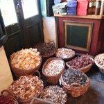 Frutas secas para venta al por menor
