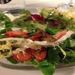 Strawberry Green sallad
