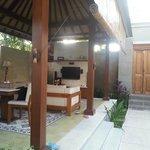 Open living room (villa accommodation)
