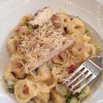 tortellini with grilled chicken