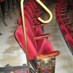 """jeweled"" seats"