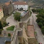 view from the castle next door