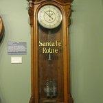 Santa Fe Railway Clock
