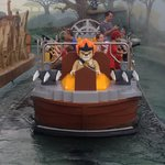 This new Chima ride was AWESOME! And the boys got soaked!! Wear your swim suit for this ride!!