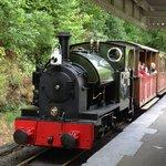 Train at Abergynolwyn Station