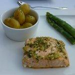 Le plat principal(Saumon)
