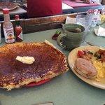 Huge amazing pancake!
