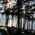 View over our tent