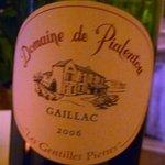 Vin du Gaillac.