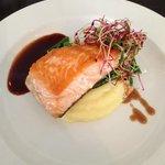 Main course (salmon)