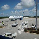 Thomas Cook A330 at Jardines Del Rey airport Cayo Coco
