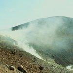 l'approche du cratère