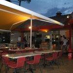 terrasse du restaurant le boudi monde