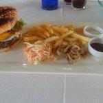 angus burger delicious cooked medium