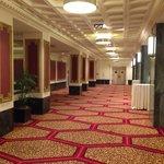 Corridoio sala conferenze