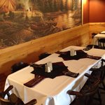 We can set up a fine dining experience for private parties!