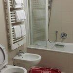 Nice bathroom!