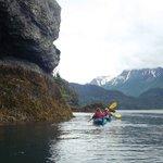 Sea Kayaking at low tide