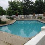 Pool area enclosed