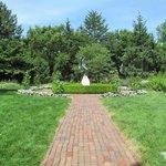 The Healing Garden - all white flowers