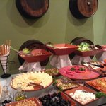 Delicious food in dinner specialty restaurant