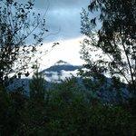 Cotacachi volcano, fiew from Aya-Huma