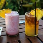 Pink Orchid and Mai Tai