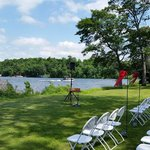 Amazing setting for a wedding. We were here for my sister's wedding and it all went great. This