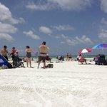 Faixa de areia