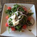 Watermelon Argula salad