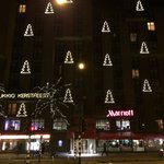 Marriott at Christmas time