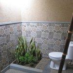 outdoor bathroom.