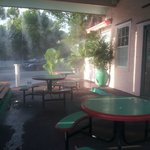 Outdoor Tables & Misters