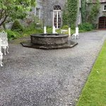 The old well in the courtyard at Ross Castle