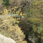 Blue bridge from O'Cahans Rok