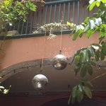 Who doesn't love accommodations that recognize the importance of a good disco ball?