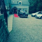 Wedding Car by #Bygonedrives @ #columbahousehotel