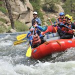Our rafting pic!